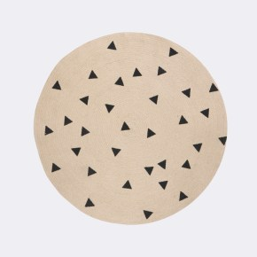 Tapis rond FermLiving