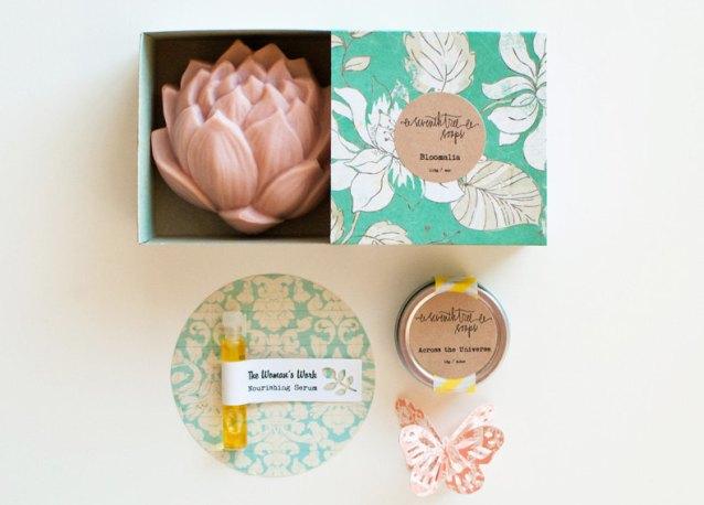 Set savon Seventh tree soaps