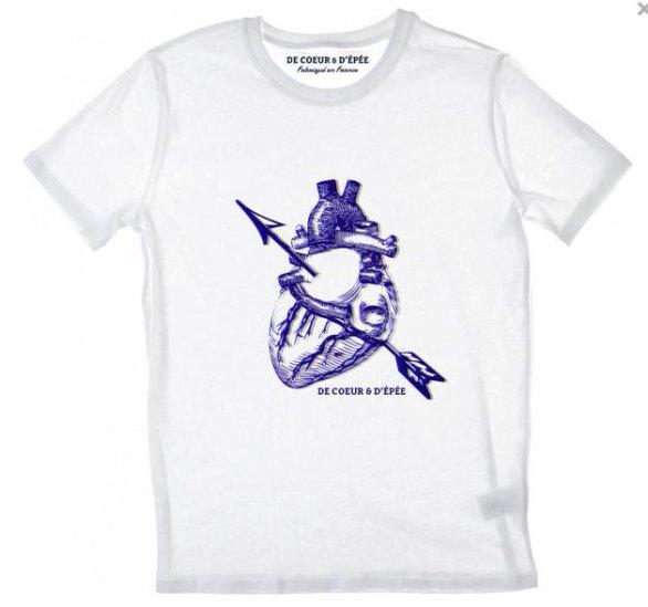 Tee Shirt Anatomic Heart 3D - De Coeur Et D'épée