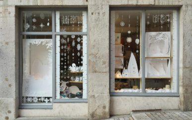 Lafabriq, vitrine de Noël 2016