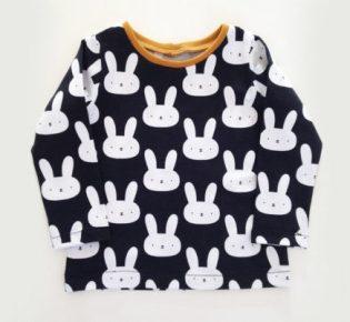 t-shirt lapin enfant
