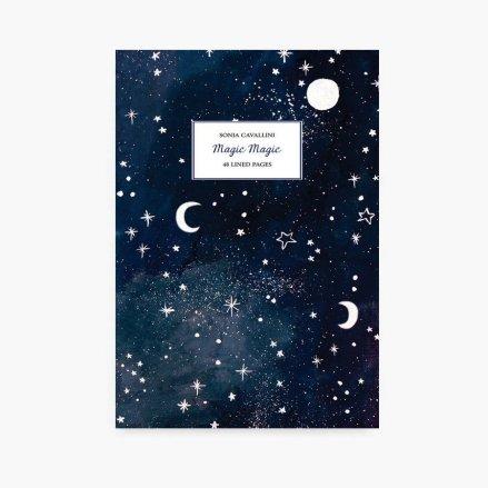 carnet notes lune