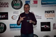 We're a winner! Pic: Dublin Web Fest