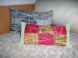 Pillows with Japanese prints ..