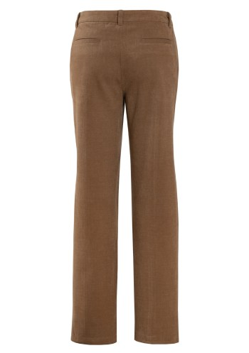 MINC Cargo Style Brushed Cotton Twill Trousers in Khaki