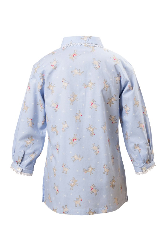 MINC Petite Girls Sleepwear Top in Printed Cotton