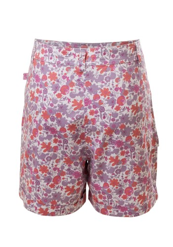 MINC Petite Tropical Safari Girls Shorts in Printed Cotton