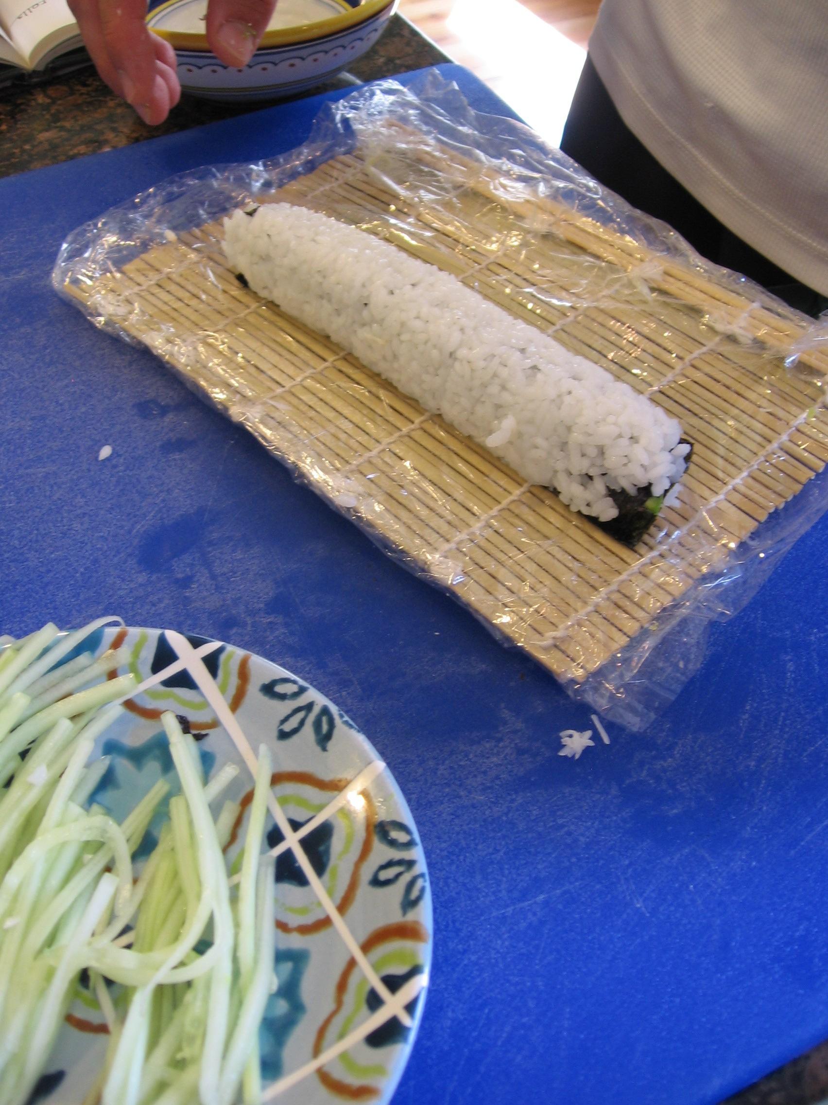 Finished Sushi Roll