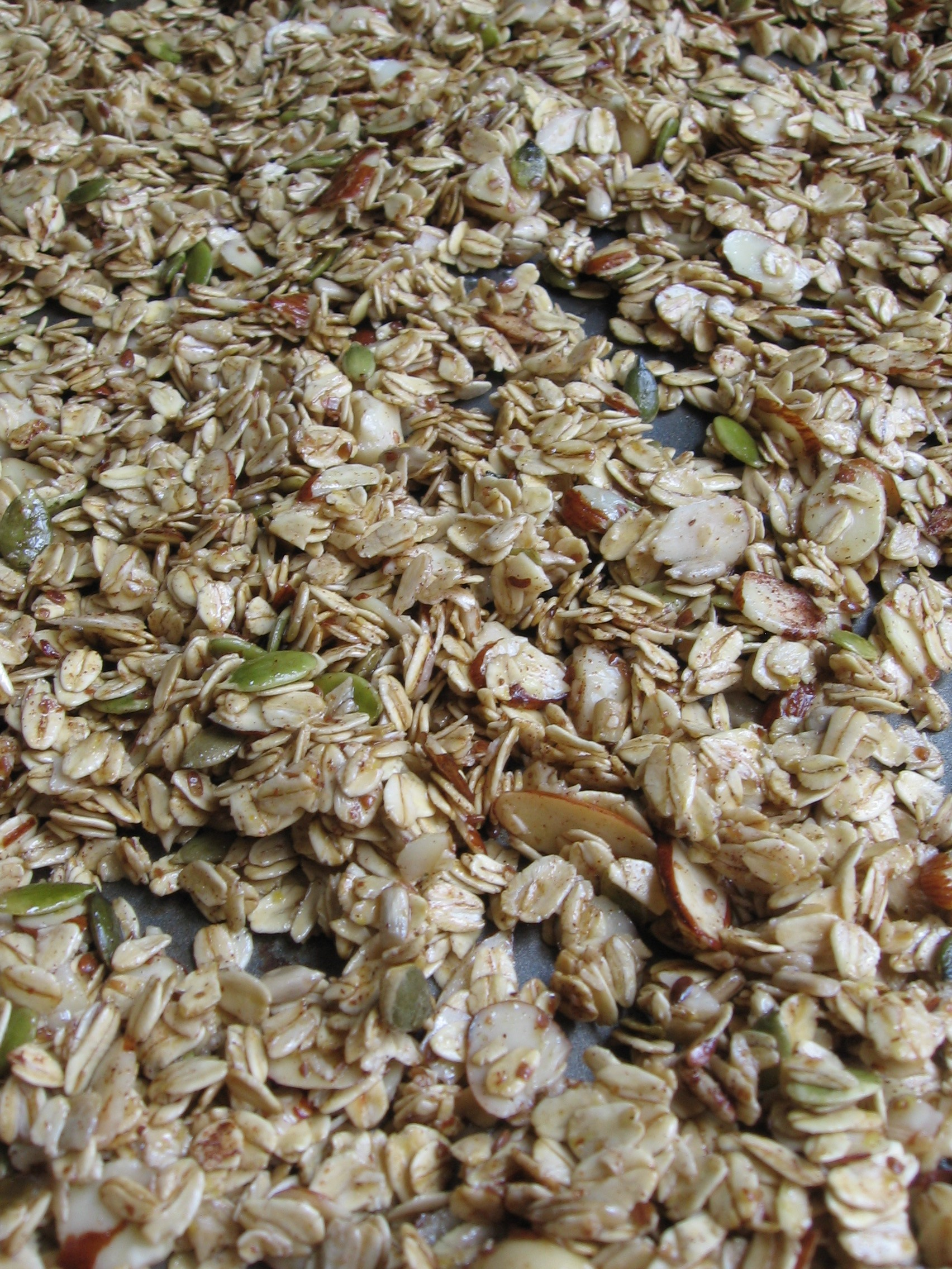 Anytime Granola - Ready to be Toasted