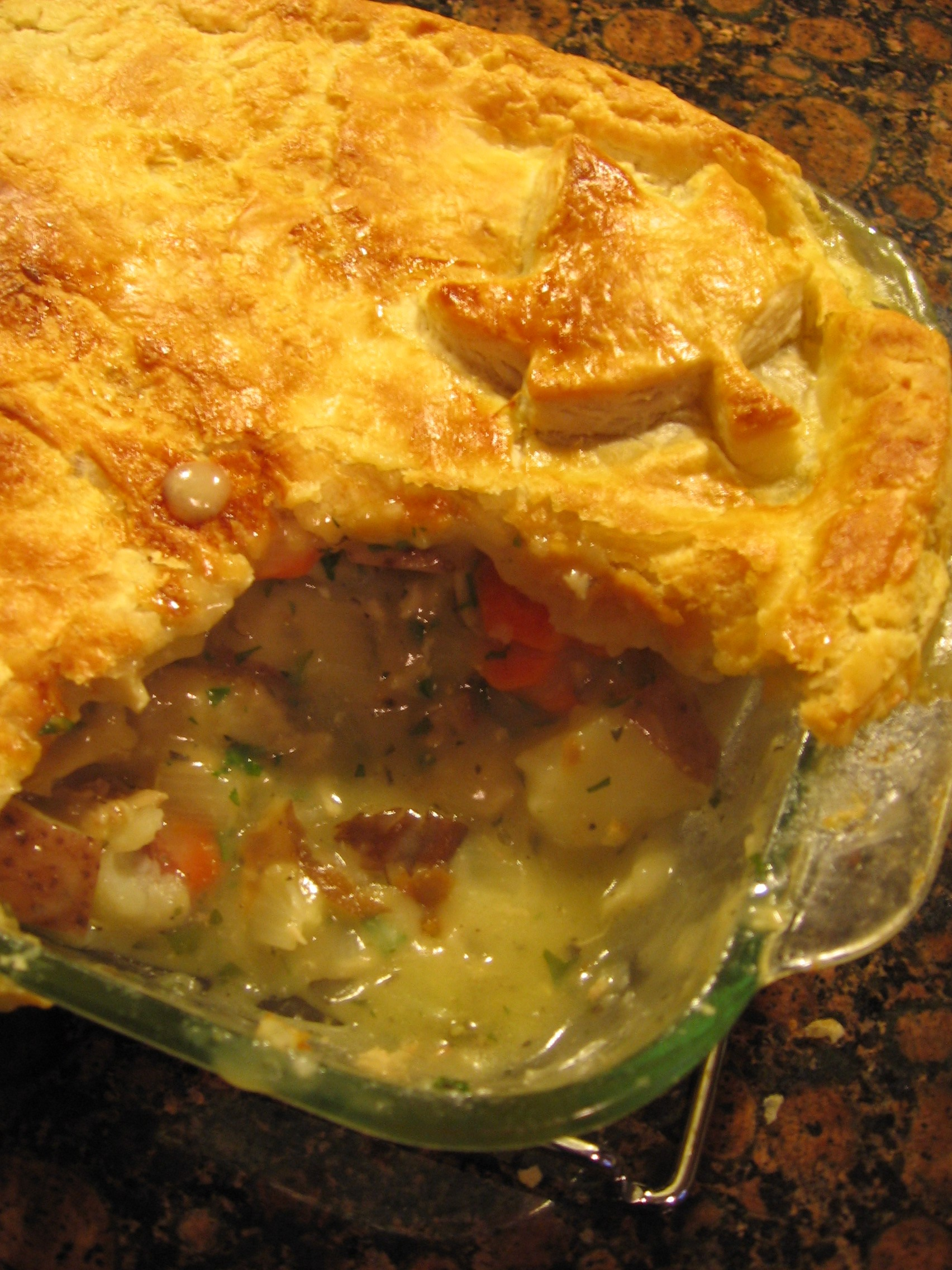 Homemade Chicken Pot Pie