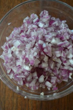 Minced Red Onion