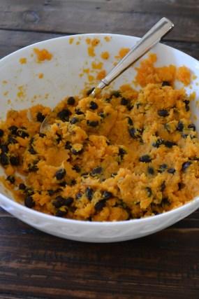 Sweet Potato and Black Beans (www.mincedblog.com)