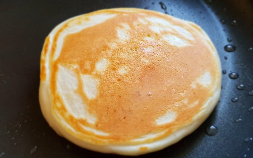 Pancakes ceto pauvres en sucres