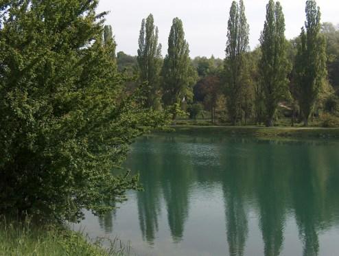 il fiume Mincio a Ponti