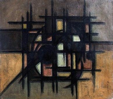 CATTEDRALE (70x80) olio su tela