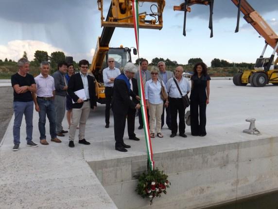 Inaugurazione seconda banchina