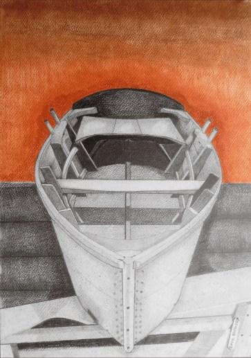 Barca a remi 900