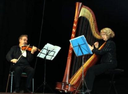 Arpa e Violino