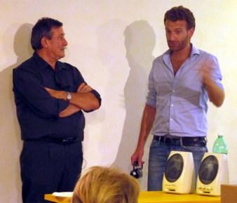 Gilberto Venturini con Damiano Chiarini copia