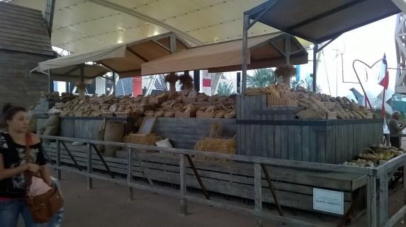 Il pane al centro del percorso principale dell'Expo 2015