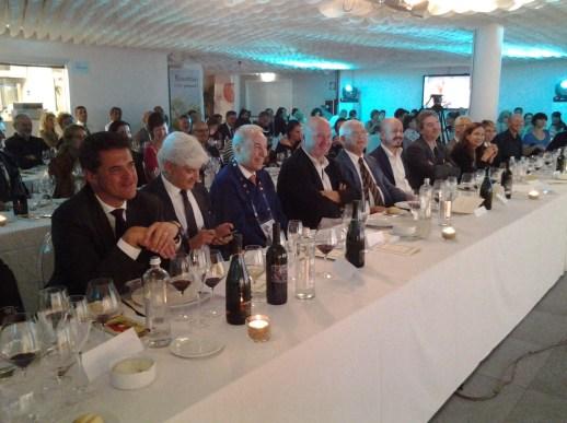 Il tavolo delle autorità con il presidente della Provincia, Alessandro Pastacci e quello dell'Ente nazionale risi, Paolo Carrà