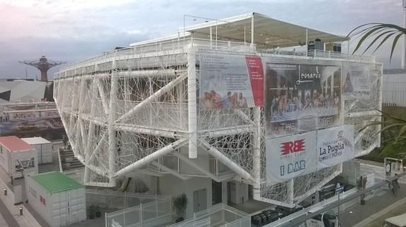 Uno dei padiglioni di Expo 2015