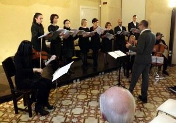 esibizione del coro