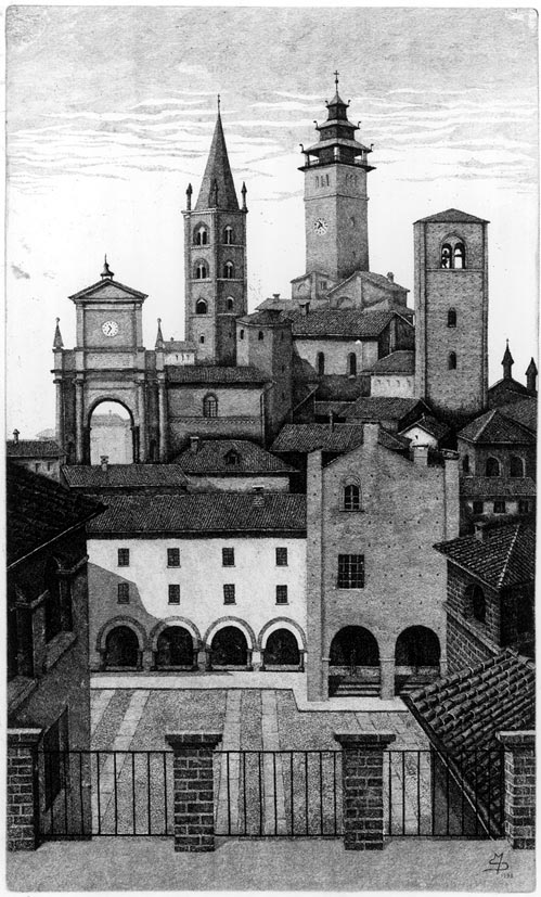 Sicchiero, Terrazza su Chieri, 1993, acquaforte, mm 325x194 (400).jpg