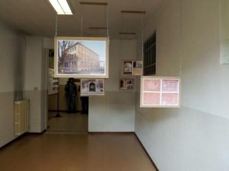 Una delle stanze che ospita l'esposizione