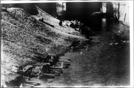 Antica foto del Rio a Mantova