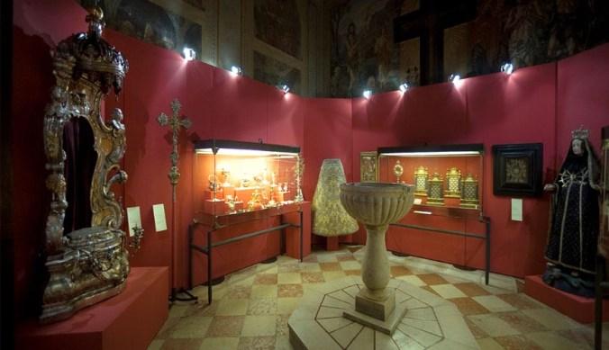 il tesoroso della chiesa di sant'Erasmo