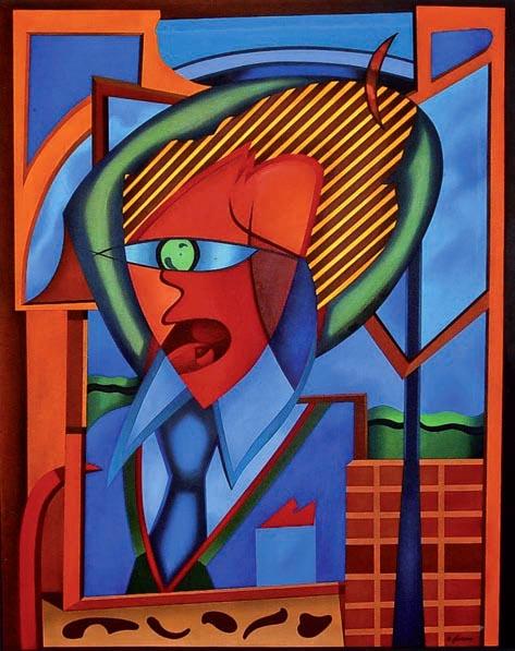 Il sogno dell'ingegnere (2003 - olio su tela)