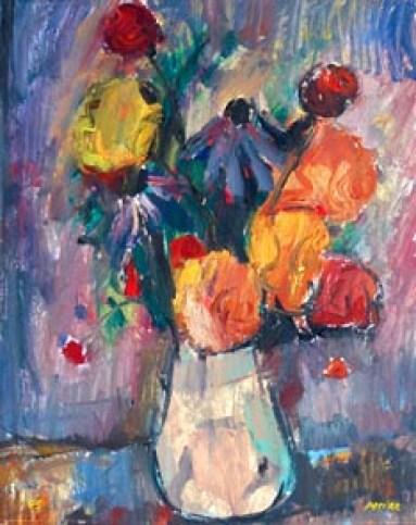 PERINA GIULIO 1955 Vaso di fiori olio su cartone 47x38 (200).jpg