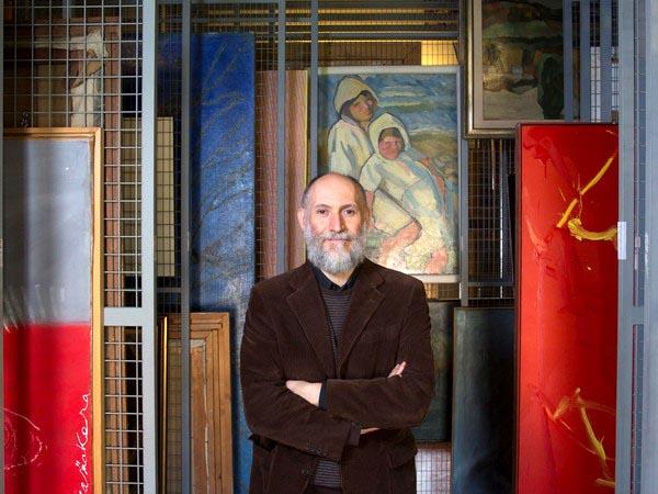 Stefano Arienti nei Depositi di Palazzo Te