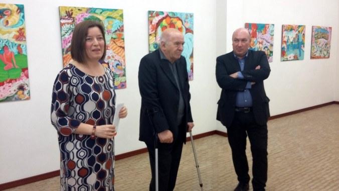 da sx - Arianna Sartori - Mario Mattei - prof. Gianluigi Guarneri