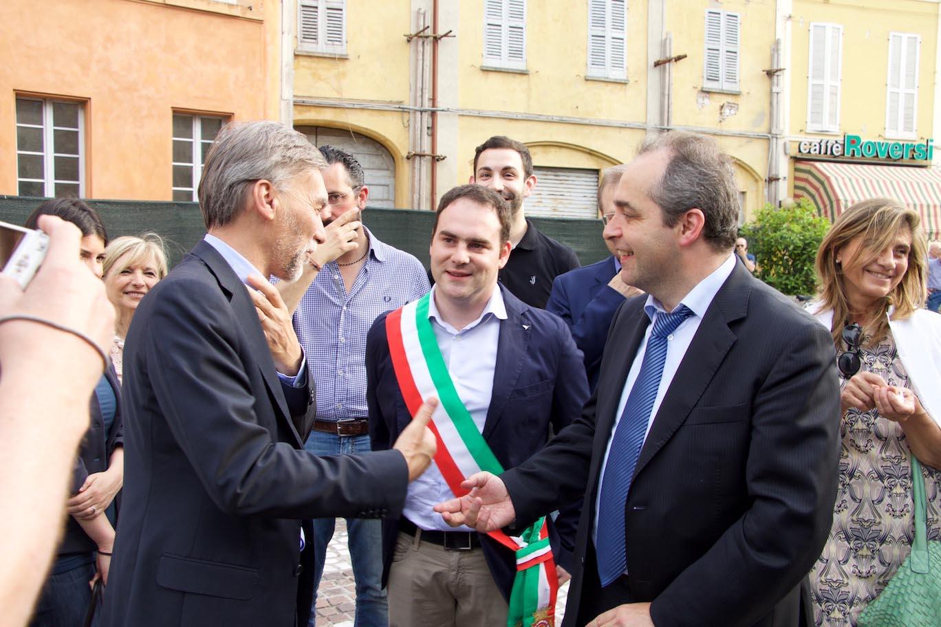 da sx Delrio, Angeli, Manghi
