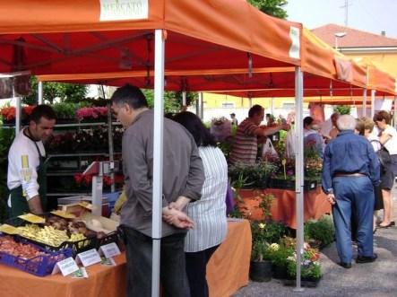 Mercato Contadino di CASTEL d'ARIO - curiosando tra frutta e verdura