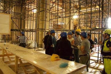 Reggiolo-il dopo sisma i lavori in corso