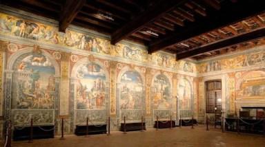 Mantova - palazzo conti D'Arco - sala dello zodiaco