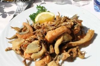 pesce fritto di lago