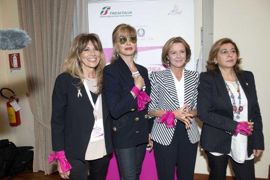 Prof.ssa  Adriana Bonifacino - Milly Carlucci - Ministro Beatrice Lorenzin - Barbara Morgante.jpg