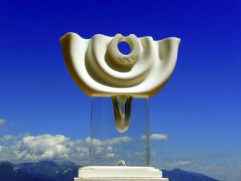 ogata-cerchi-dacqua-b-cm50hx45x15-marmo-statuario-e-plexiglas-2006