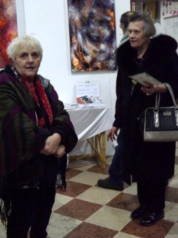 le artiste Rossato e Bronzati