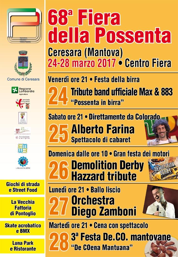 Ceresara il 24 marzo apre la 68 edizione dell antica for Fiera monaco marzo 2017