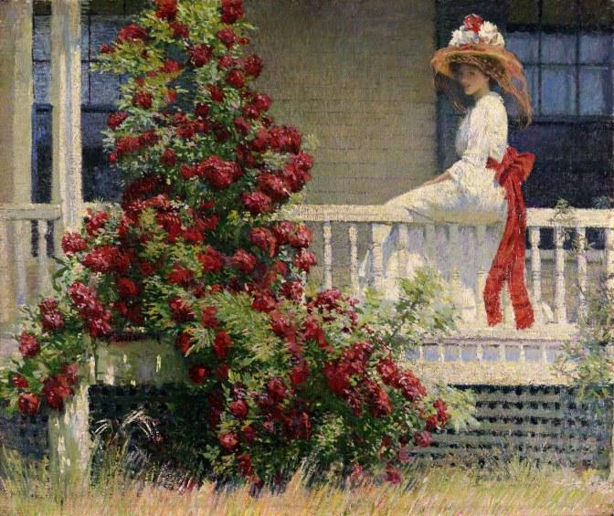 Philip Leslie Hale, CRIMSON RAMBLER, 1909-PAFA