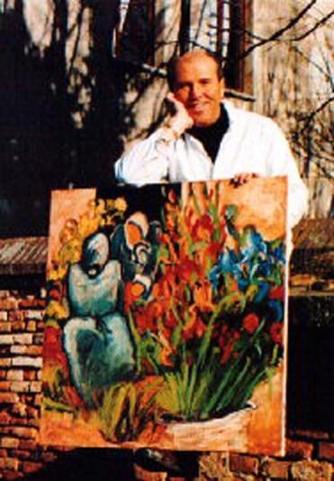 l'artista Sandro Negri