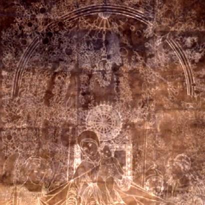 Calco della Madonna della Vittoria di Andrea Mantegna