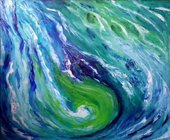 Maristella Laricchia - Entitas Abstracte dim. 60x50 cm