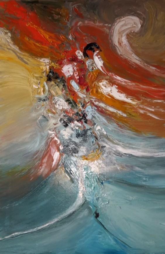 Maristella Laricchia - I quattro elementi dim. 50x70 cm