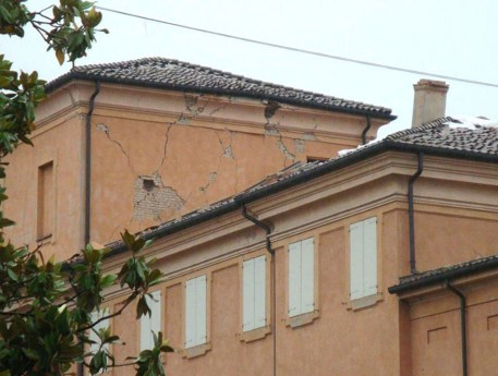Palazzo Sartoretti danni
